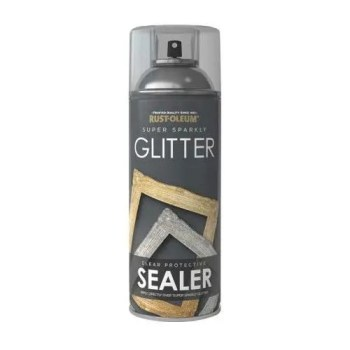 x1-Rust-Oleum-Super-Sparkly-Sparkling-Glitter-SEALER-Spray-Lacquer-400ml-391878056163