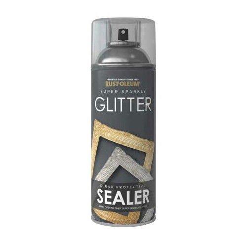 x1-Rust-Oleum-Super-Sparkly-Sparkling-Glitter-SEALER-Spray-Lacquer-400ml-391878056163