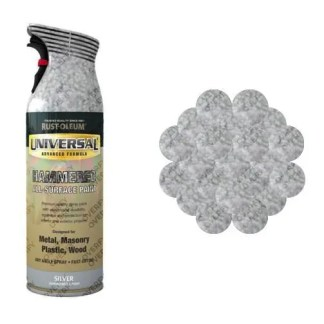 x1-Rust-Oleum-Universal-All-Surface-Spray-Paint-400ml-Any-Angle-Silver-Hammer-391388836600