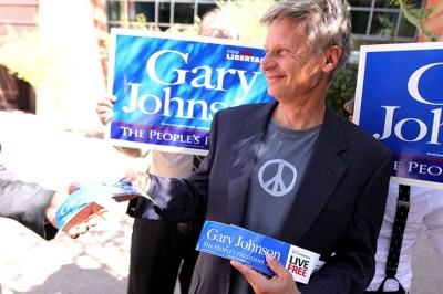 Gary Johnson polls