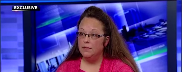 Kim Davis Legal Bill Twist