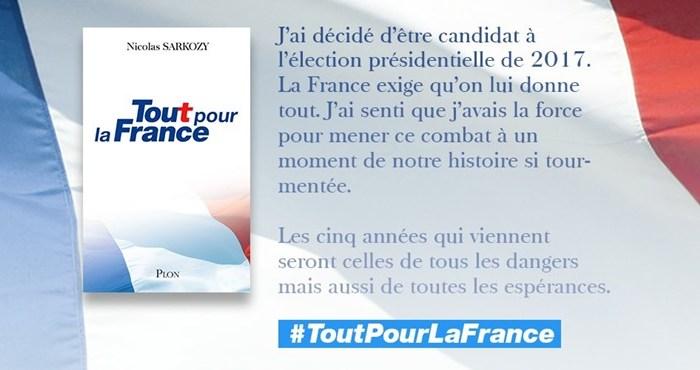 Nicolas Sarkozy presidential election