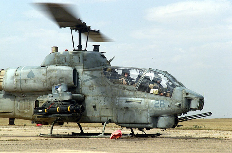 US Deploys Helicopters