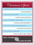 Christmas Spirit Checklist