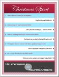Christmas Spirit Checklist