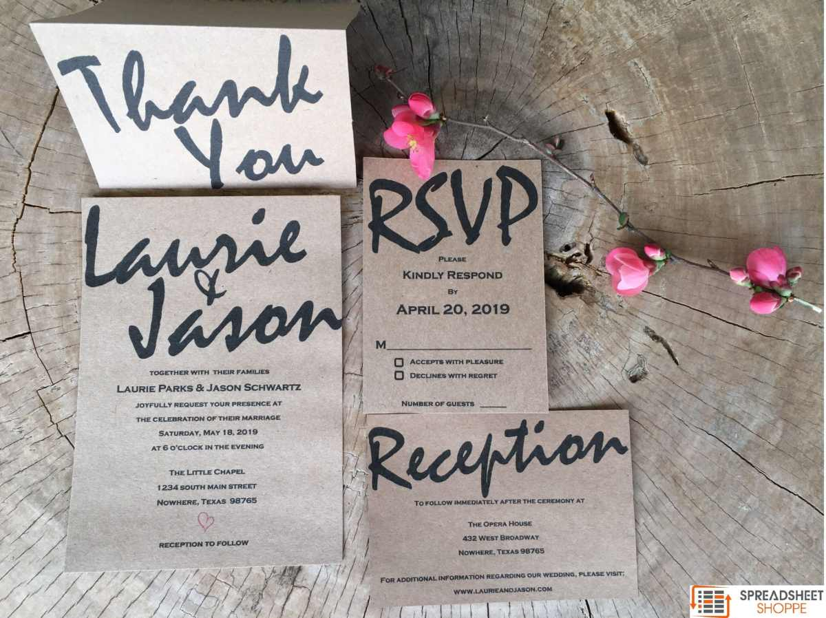 publisher wedding invitation templates