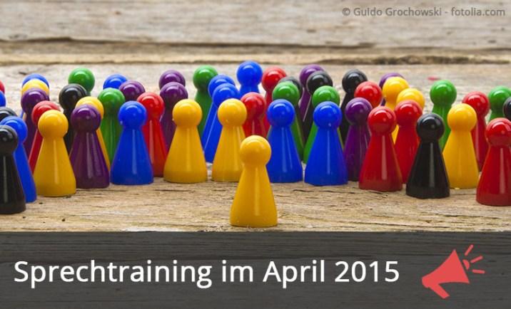 Sprechtraining Dresden Ankuendigung Apri 2015 Blog