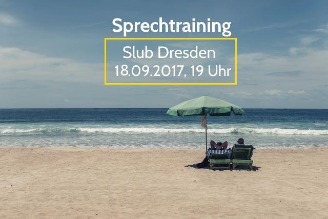 Sprechtraining im September<br>Mein Sommer 1