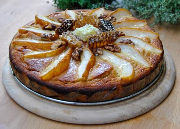honey_pie_with_pears/Меден сладкиш с круши