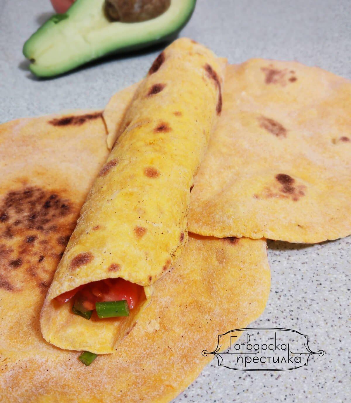 Тортии (Tortilla) от батат