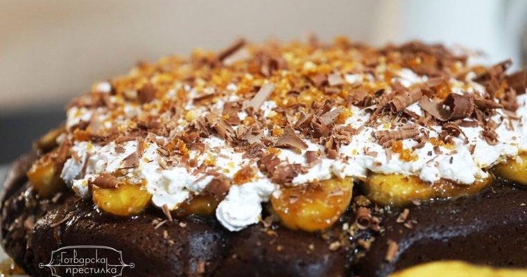 Банофи пай с шоколадов блат