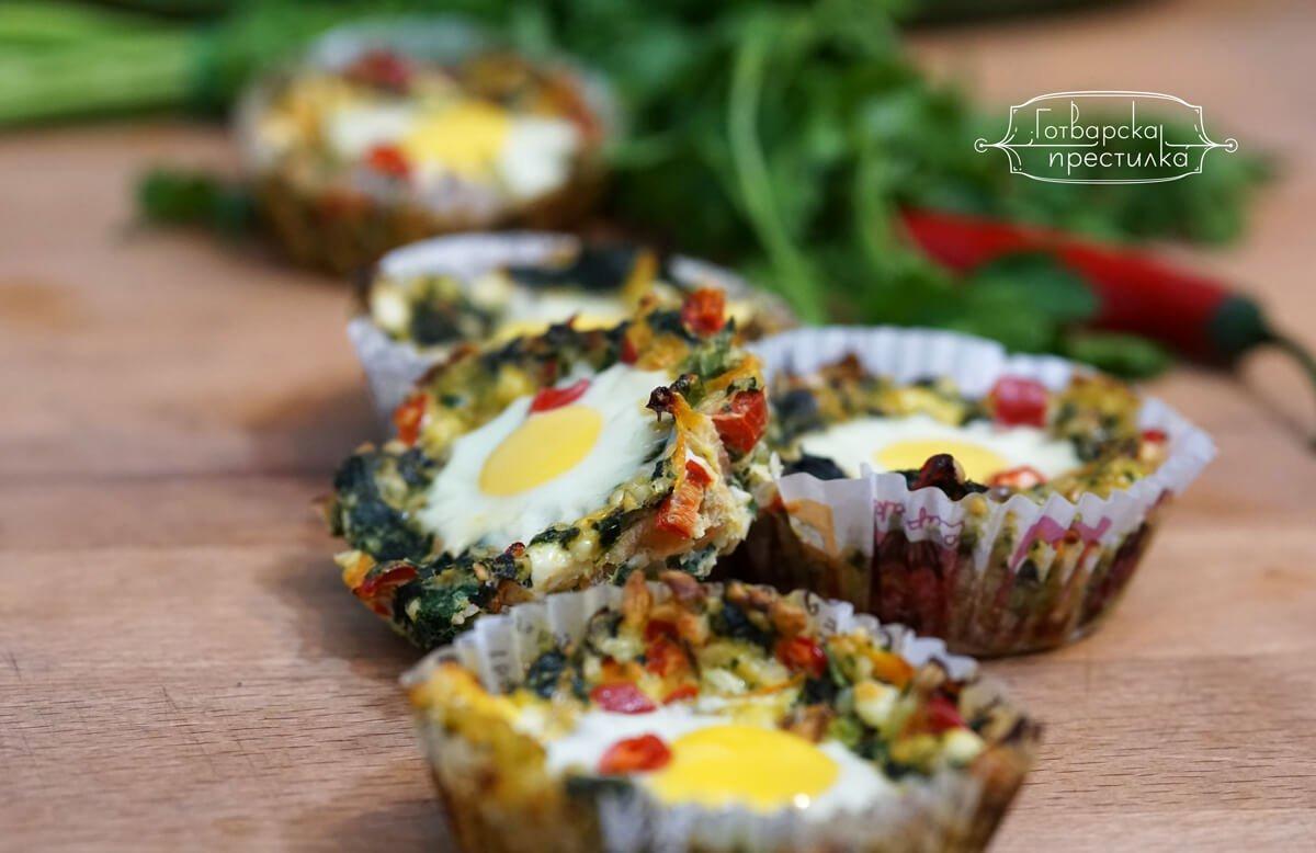 Зеленчукови гнезда с коприва и пъдпъдъчи яйца