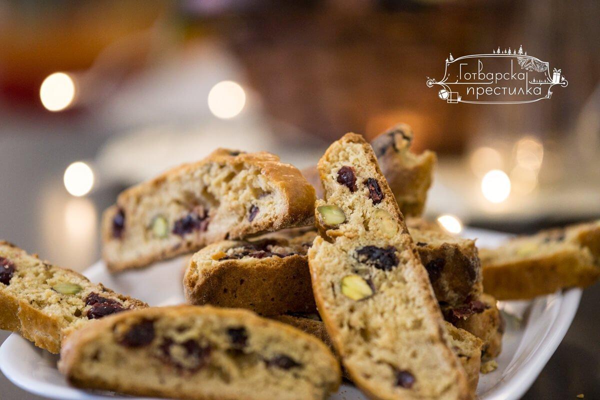 """Тоскански бисквити или """"Biscotti di Prato"""""""