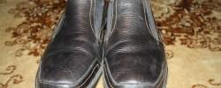 Jemandem etwas in die Schuhe schieben