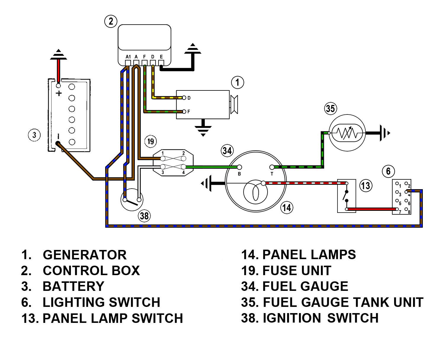 FuelGaugeWiringSpMkII_MGMkI genie 51689gt wiring harness diagram wiring diagrams for diy car  at bakdesigns.co