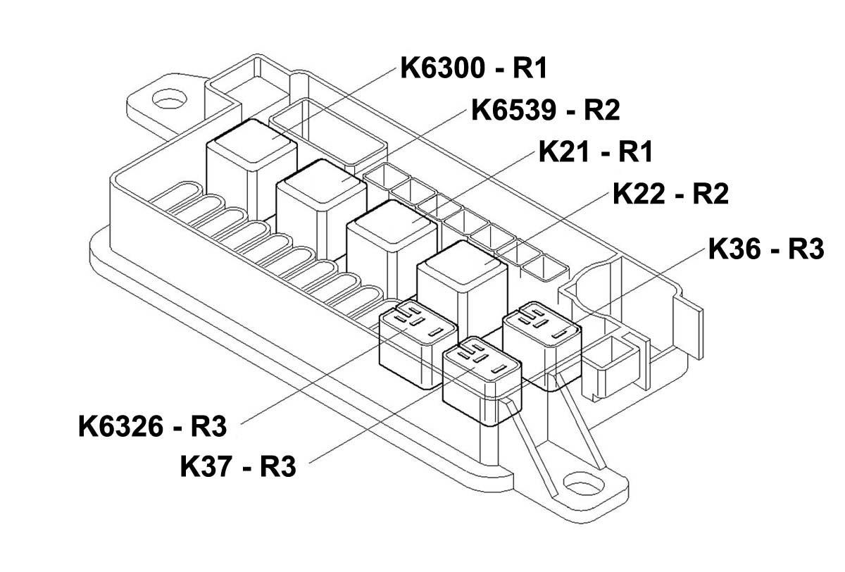 Mini Cooper Relay R1 Oem Gen2 R55 R61