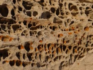 Honeycomb rock Elgol
