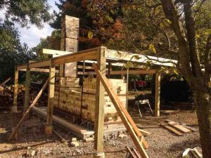wood fired kiln construction