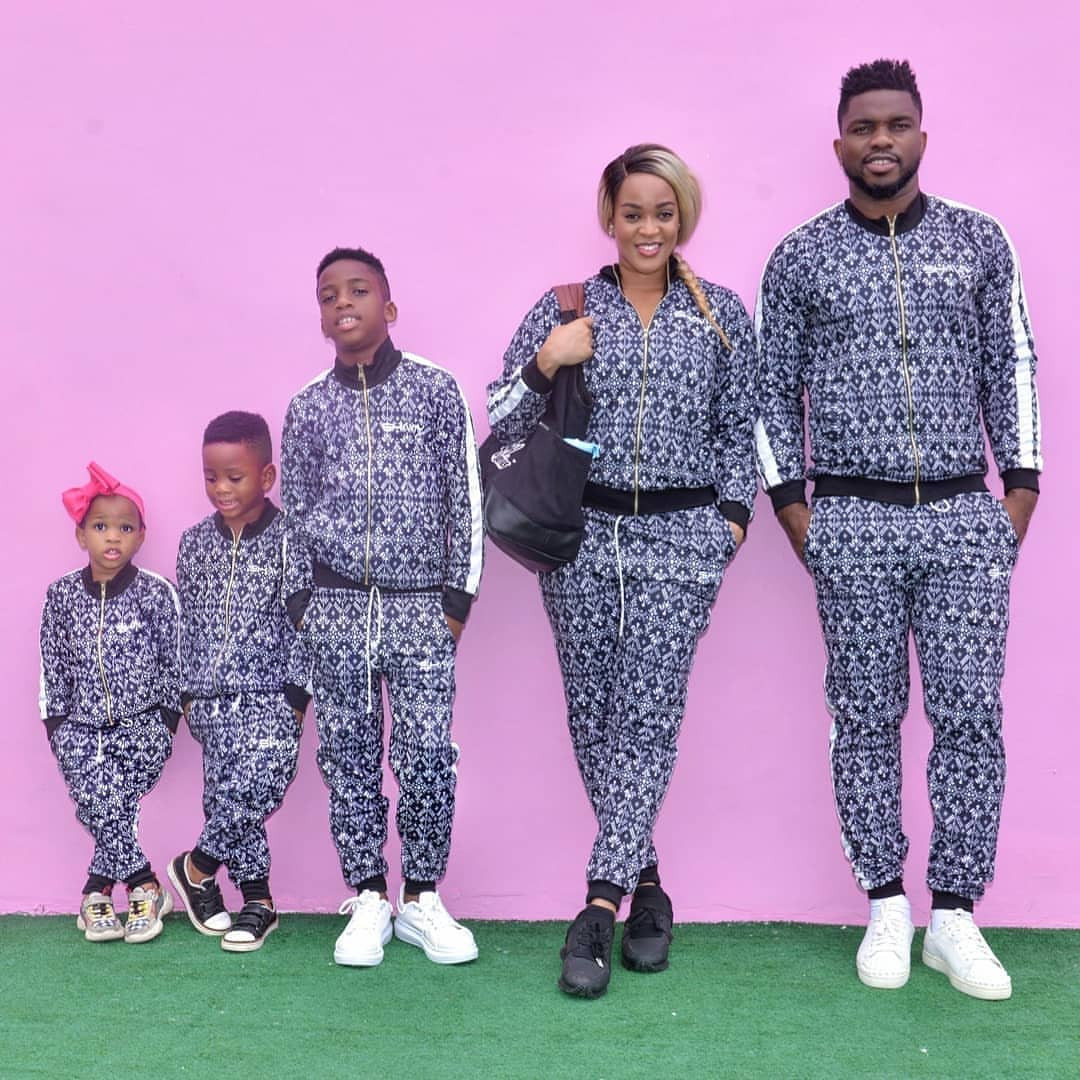 See the Yobos slaying in matching outfit(photos)