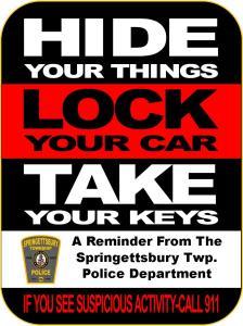 lock your car