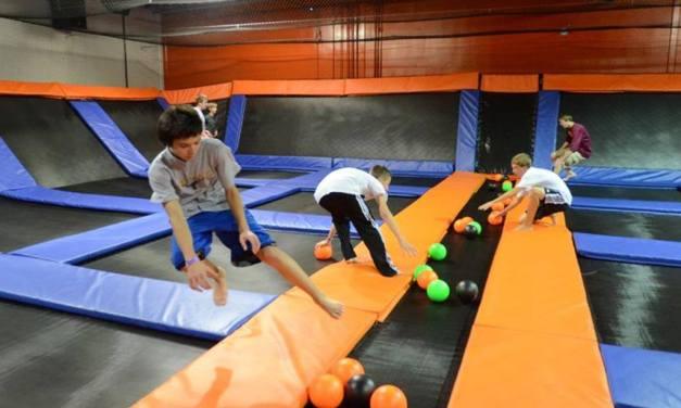 40,000 Square Foot Trampoline & Adventure Park Opening In Spring