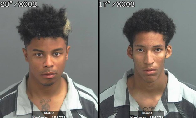 Sheriff's Office Arrest Two for Shooting Incident in South Montgomery County