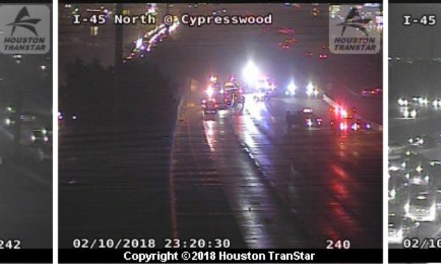 Interstate 45 Complete Freeway Closure Due To Multiple Accidents