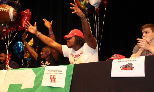 More Than 40 Spring ISD Student Athletes Participate in National Signing Day