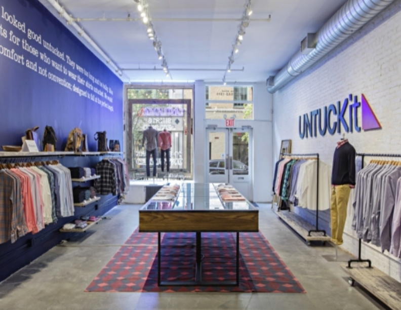 UNTUCKit Opens Up At The Woodlands Mall