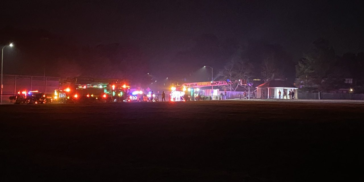 Fireworks Likely to Blame for Fire at Spring Creek Oaks Baseball Field