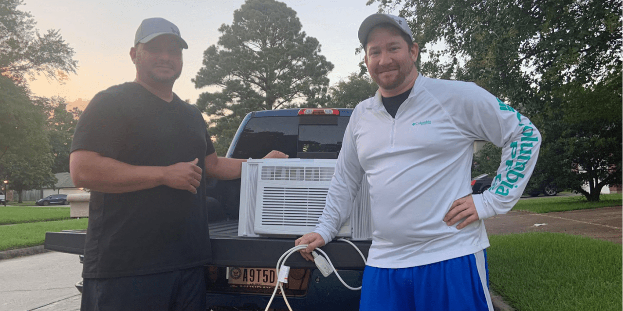 Spring Residents Join Forces to Help Family in Need of Air Conditioner