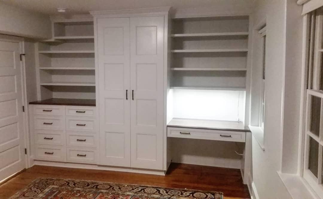 Pine Street custom cabinet