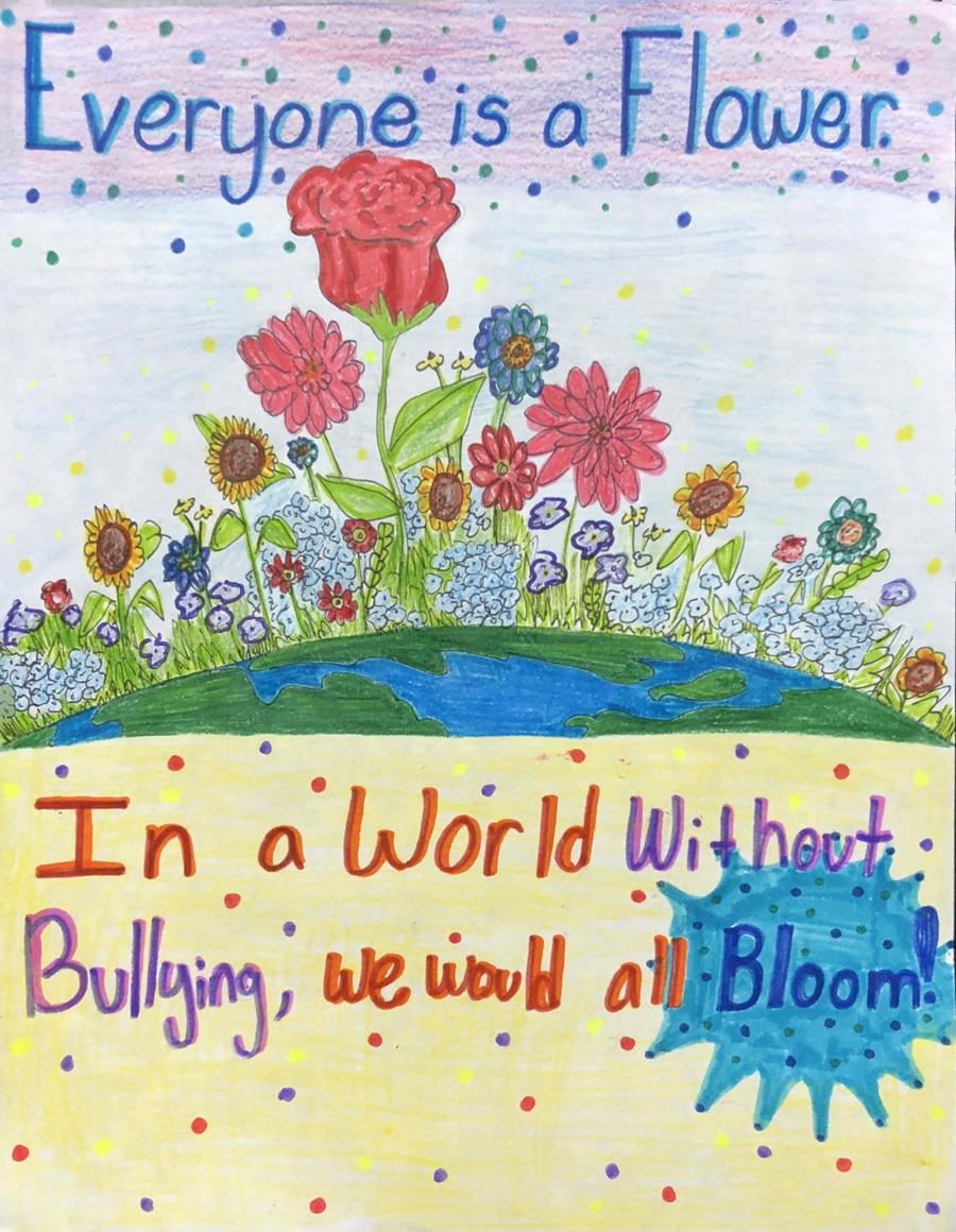 Blooming Without Bullying by Mia Sparacino, Twin Creeks Middle School