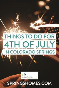 Things to do 4th of July in Colorado Springs