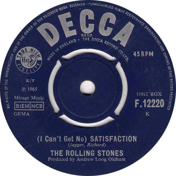 Αποτέλεσμα εικόνας για Satisfaction Rolling Stones