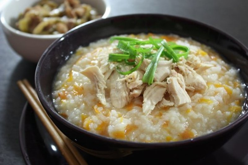Chicken Carrot Porridge Recipe