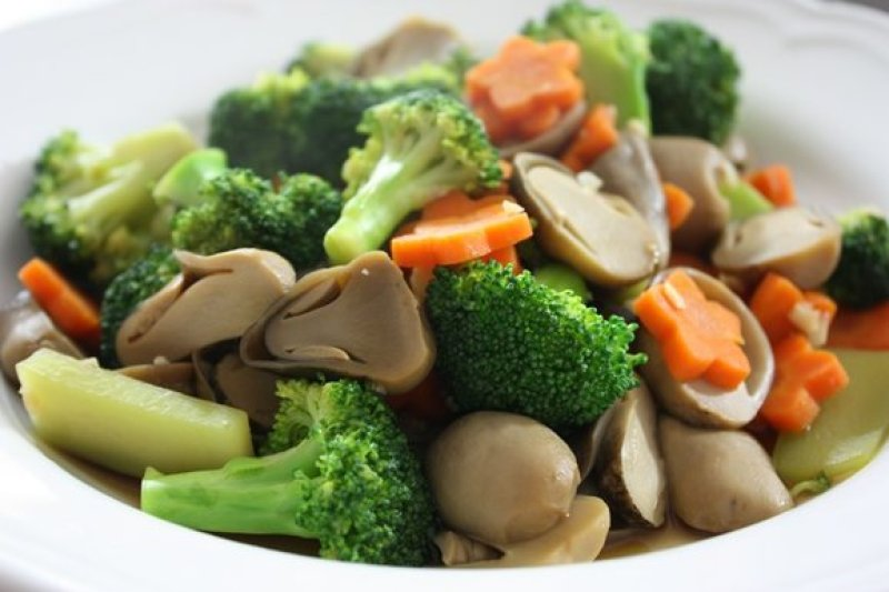 Image result for Stir Fried Broccoli with Straw Mushrooms