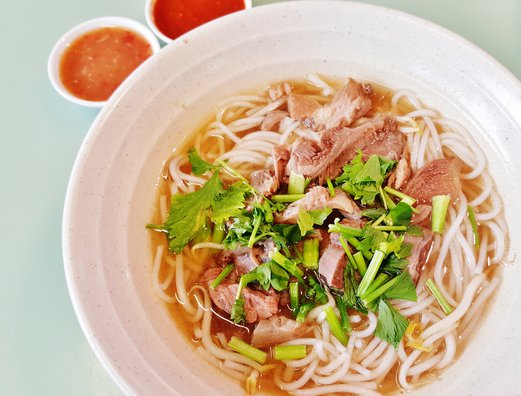 China Square Beef Noodles 中國城