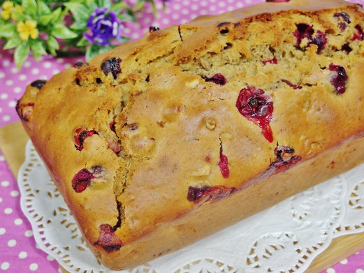 Cranberry Walnut Bread Recipe