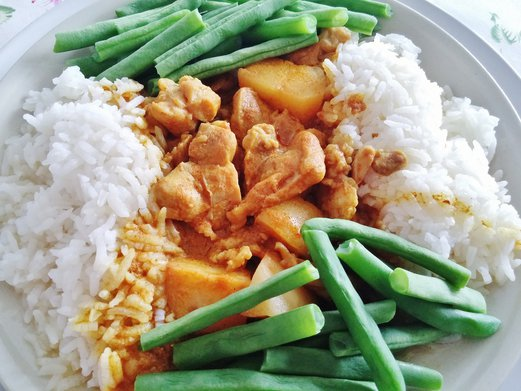 Chef In Box Curry Chicken Rice