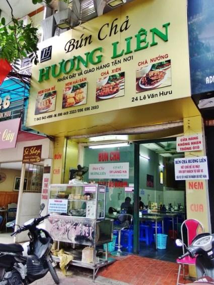 Bun Cha Huong Lien