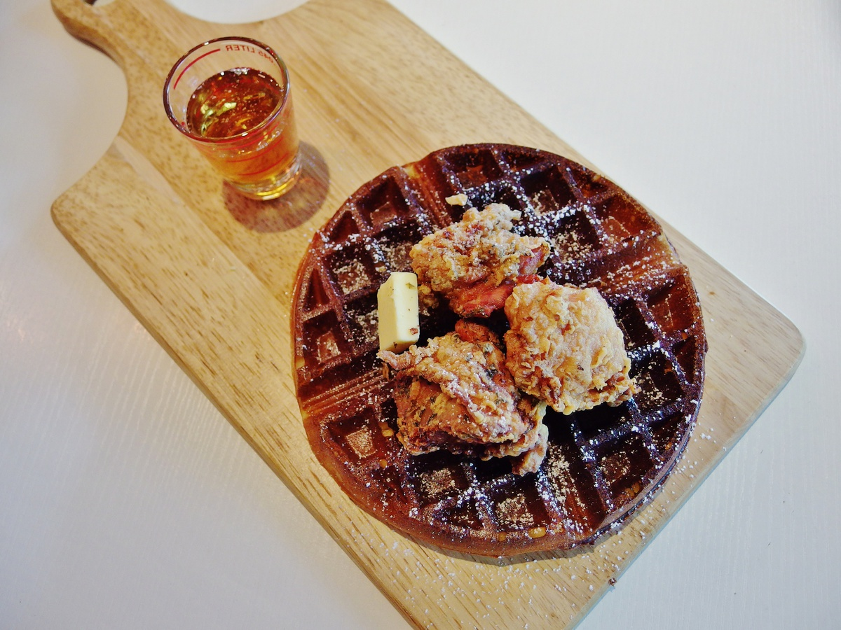 Citrus By The Pool - Fried Chicken and Waffle