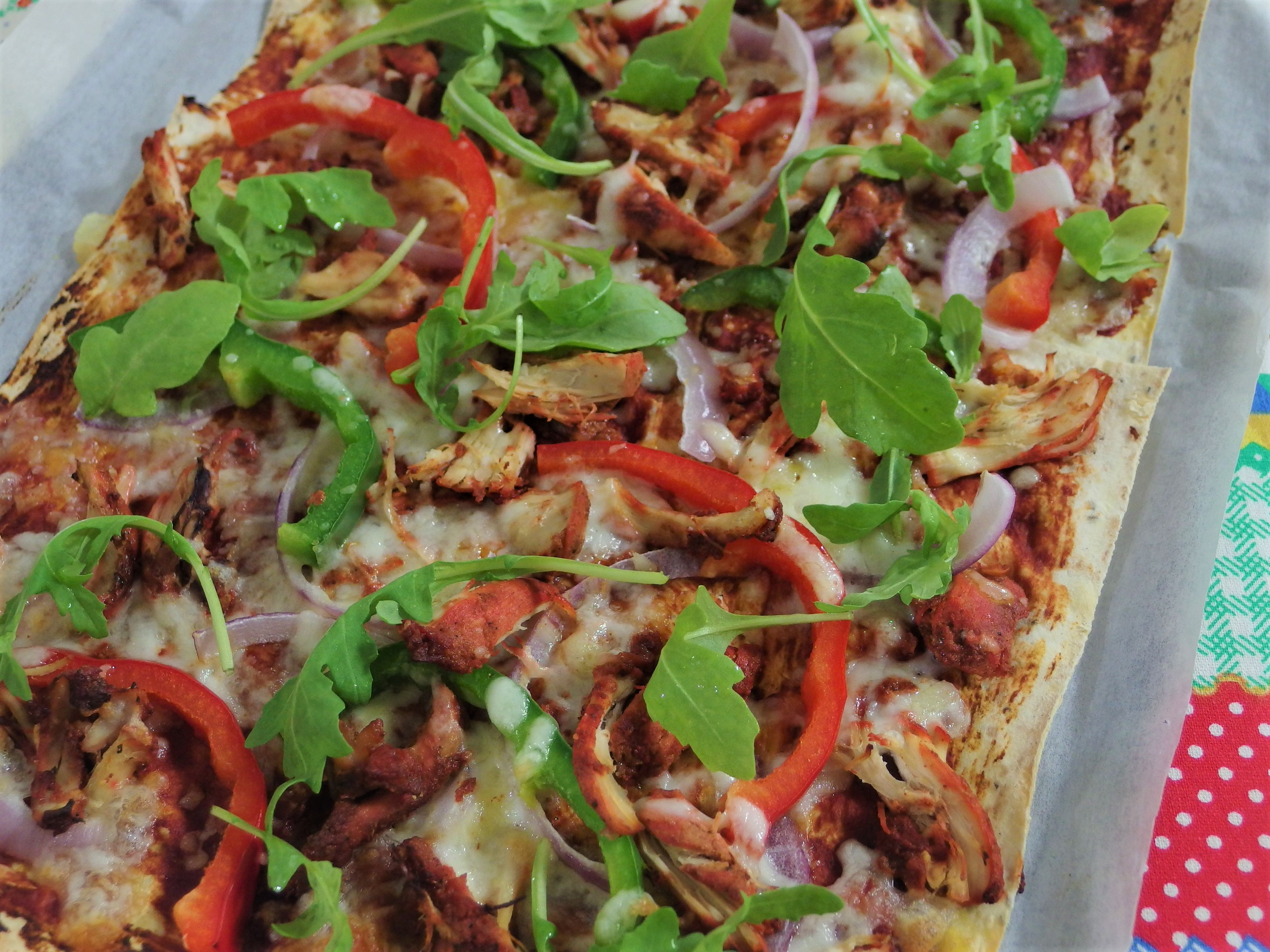 Tandoori Chicken Pizza Recipe