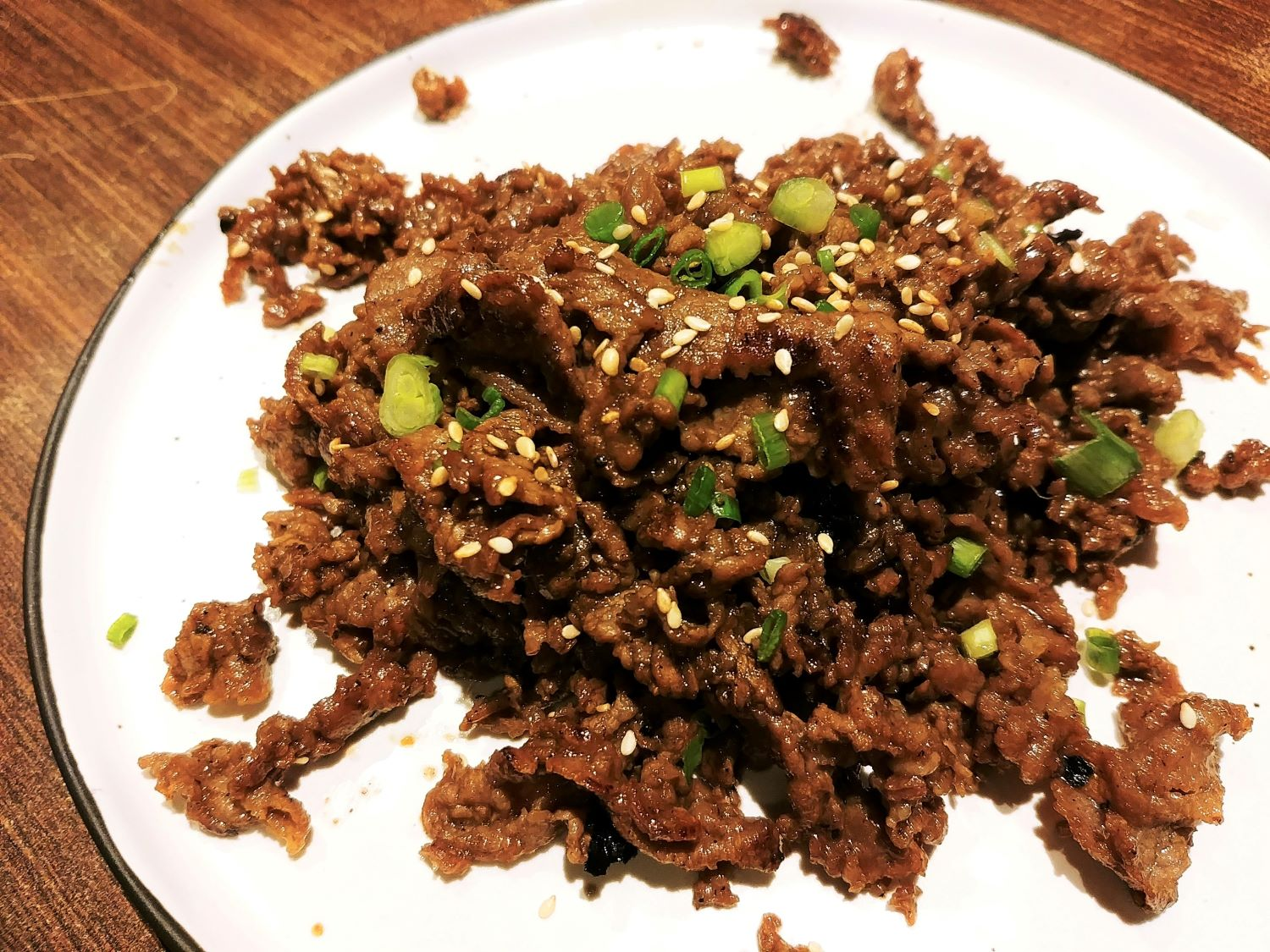 Ajumma's Korean Restaurant @ The Cathay - Bulgogi Beef