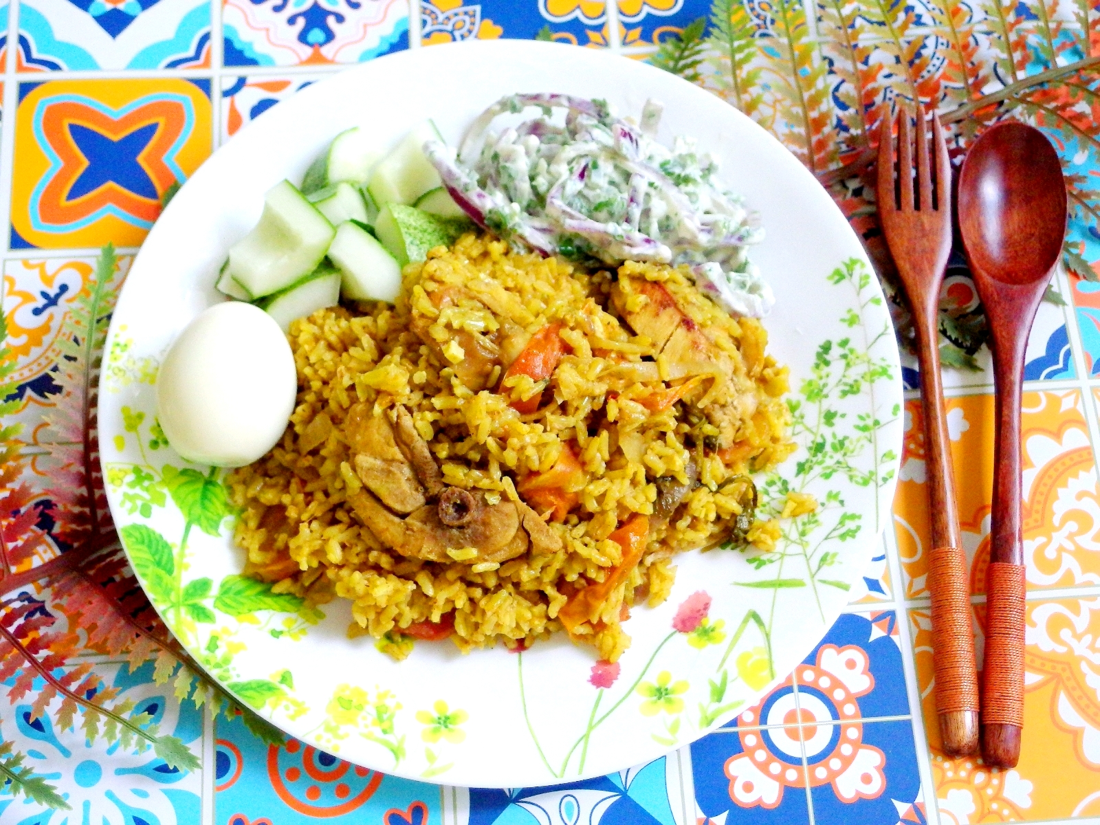 Brown Rice Chicken Biryani | Indian Food Recipe