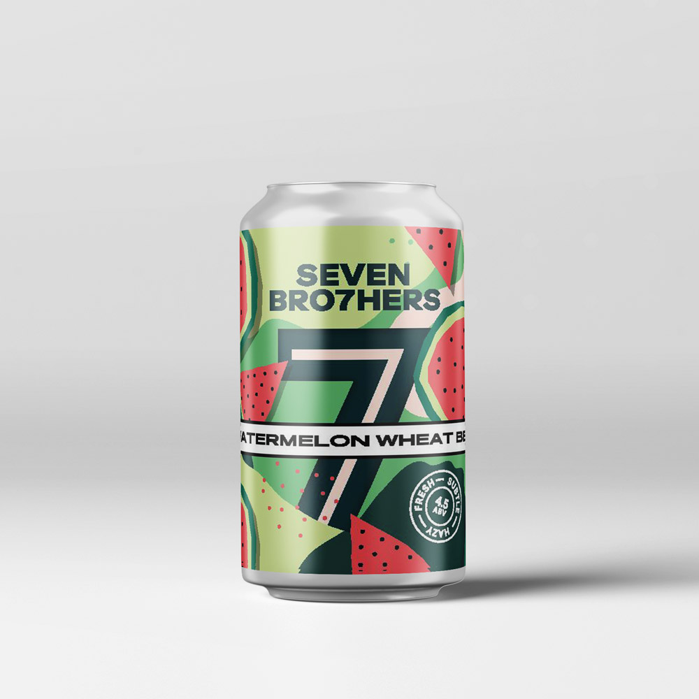 7 Brothers — Watermelon Wheat Beer (4.5%)