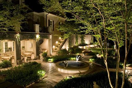 expert landscape lighting services