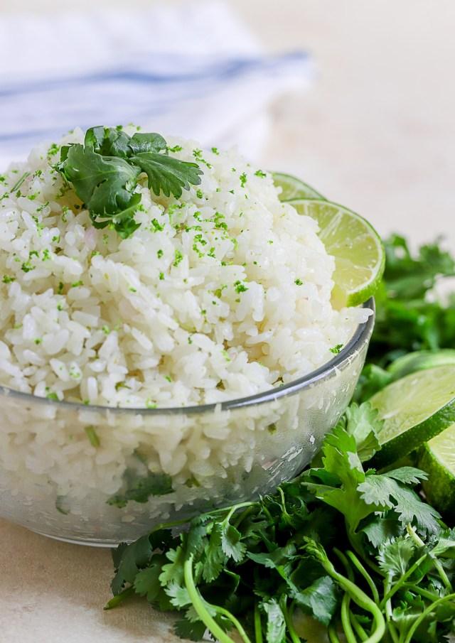 Cilantro Lime Sticky Rice