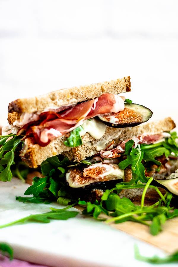 Fig and Prosciutto Sandwiches