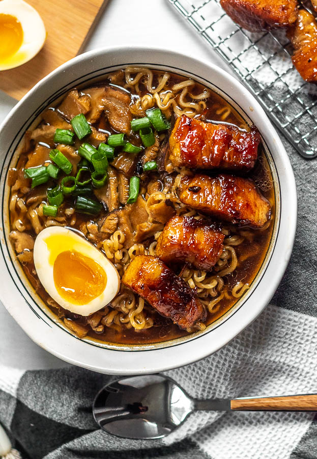 Most Popular Recipe of 2019 - Instant Pot Pork Belly Ramen